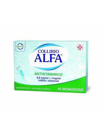 Alfa Collirio Antistaminico 10 monodosi 027837020