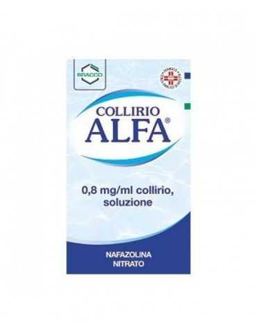 Alfa Collirio Gocce 10ml 0,8mg/ml