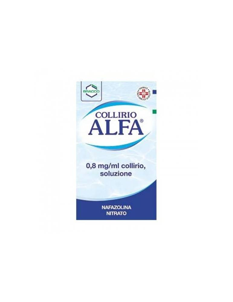 Alfa Collirio Gocce 10ml 0,8mg/ml DOMPE' FARMACEUTICI SpA 003235049 Colliri
