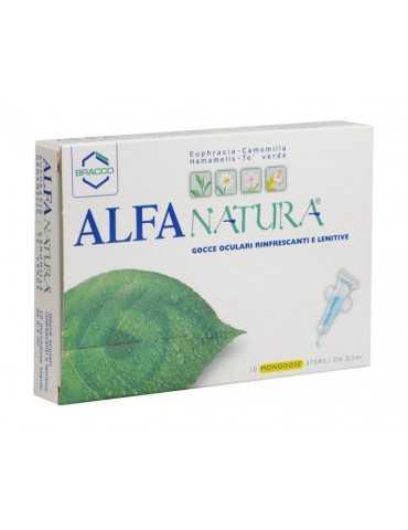 Alfa Natura Gocce oculari rinfrescanti e lenitive 10 monodosi 900472768