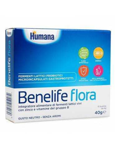 Benelife Flora 10 Bustine 40g Humana