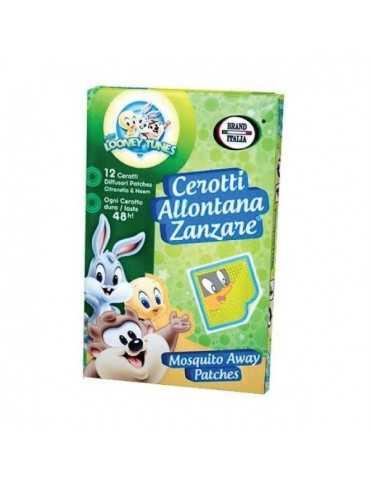 CEROTTI Anti-zanzare BABY LOONEY TUNES 12 PEZZI 926549130