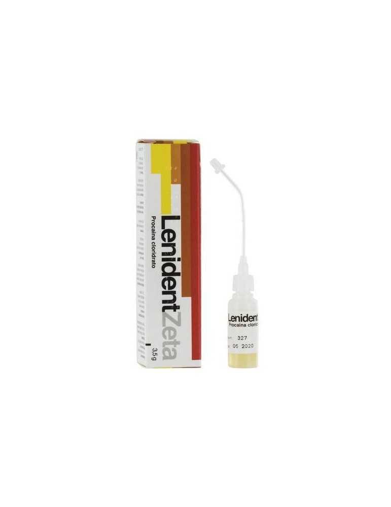 LenidentZeta Soluzione Odontoiatrica Anestetico Locale 6ml 3,5g 025635018