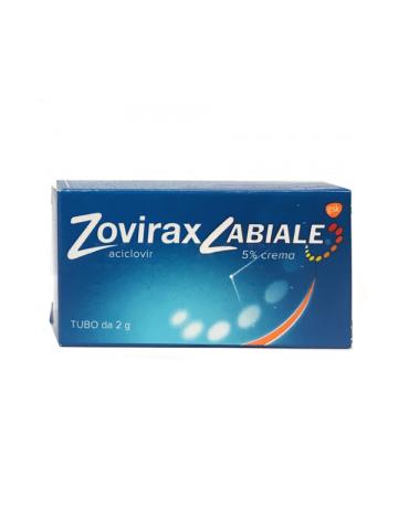 Zovirax labiale 5% Crema 2 grammi 037868015