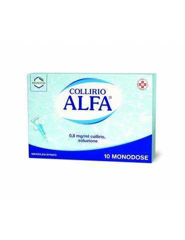 Alfa Collirio 10 monodosi 0,3ml Bracco