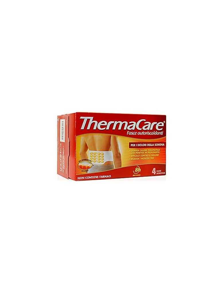 ThermaCare Fasce autoriscaldanti a calore terapeutico per i dolori della schiena 4 fasce monouso 939311306