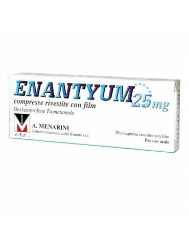 Enantyum 25mg 20 compresse rivestite 033656036