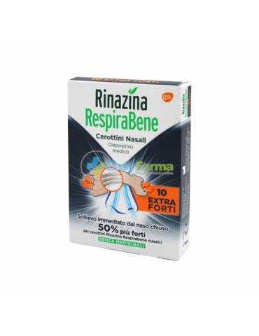 Rinazina RespiraBene 10 cerottini nasali extra forti 975005935