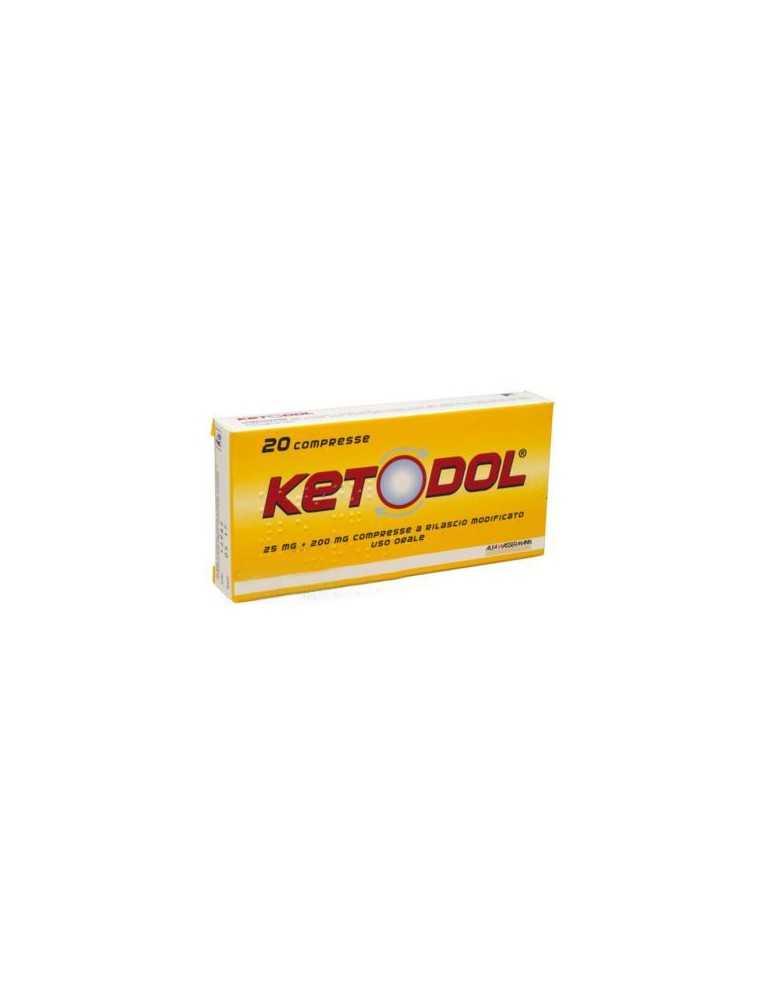 Ketodol 20 compresse 25mg + 200mg EG SpA 028561037