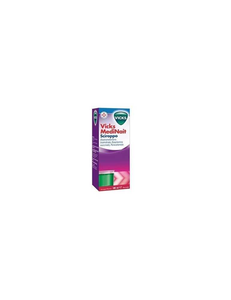 Vicks Medinait raffreddore e influenza sciroppo 180ml 024449062