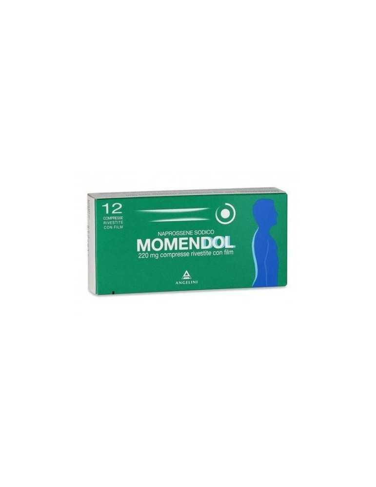 Momendol 12 compresse 220mg Angelini