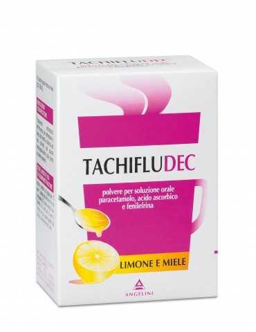 Tachifludec 10 bustine gusto limone e miele 034358022