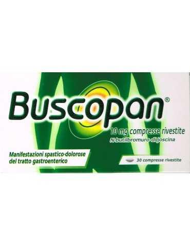 Buscopan antispastico antidolorifico gastrico, genito-urinario 30 Compresse 10mg 044651014