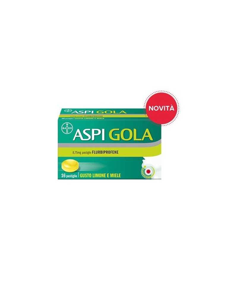 Aspi Gola gusto Limone e Miele 16 pastiglie 041513033