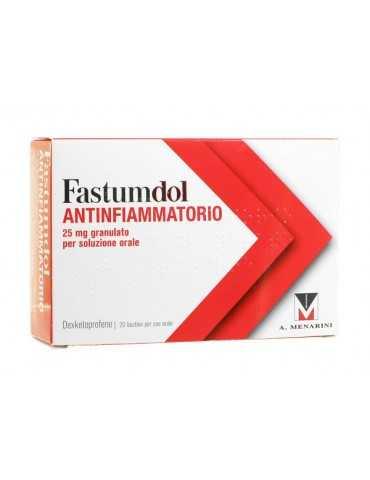 Fastumdol Antinfiammatorio 25 mg 20 bustine A.Menarini034041222 A.Menarini