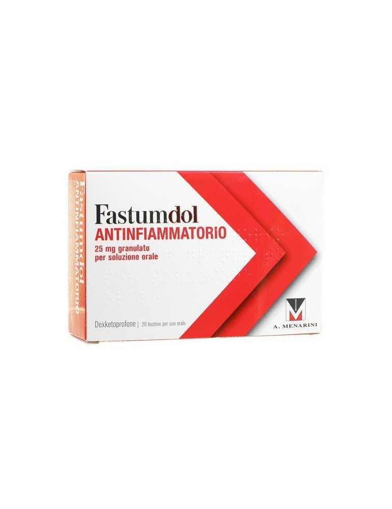 Fastumdol Antinfiammatorio 25 mg 20 bustine 034041222