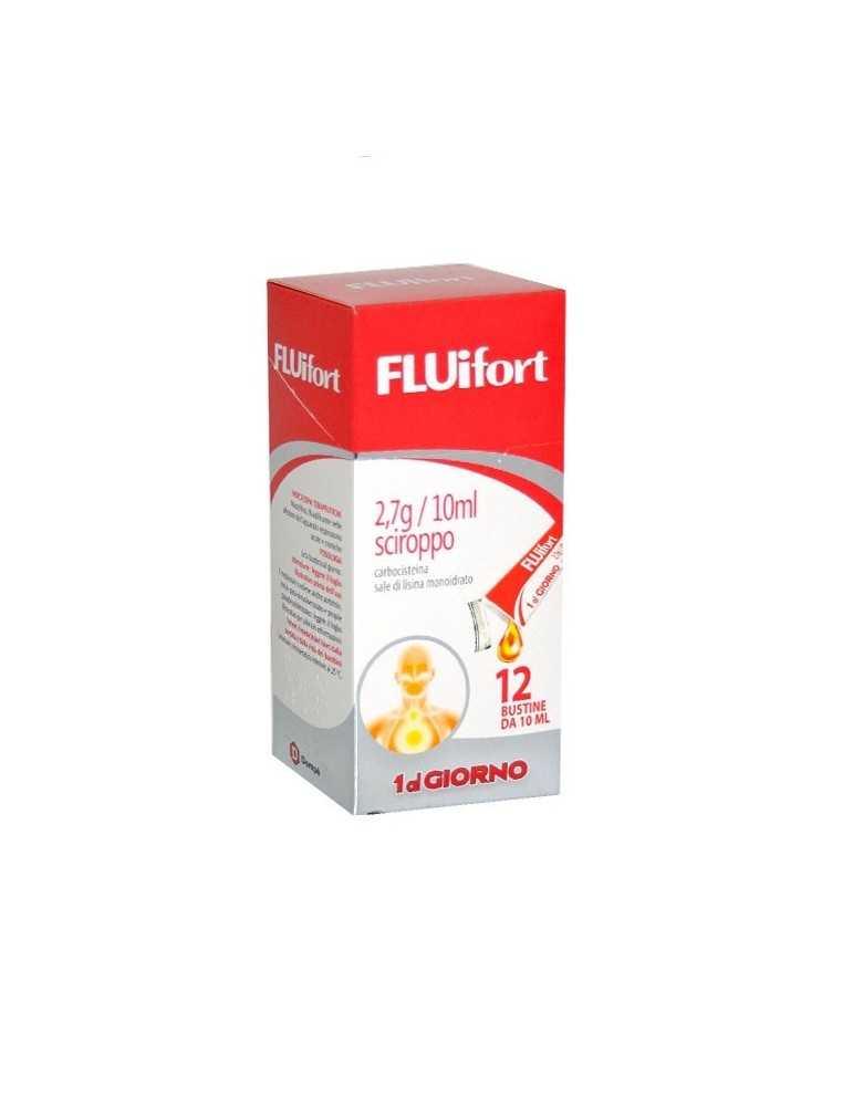 Fluifort Sciroppo 12 bustine 2,7g/10ml 023834144