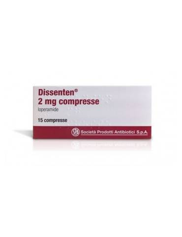 Dissenten 2mg 15 compresse SPA (SOC.PRO.ANTIBIOTICI) SpA023694058 SPA (SOC.PRO.ANTIBIOTICI) SpA