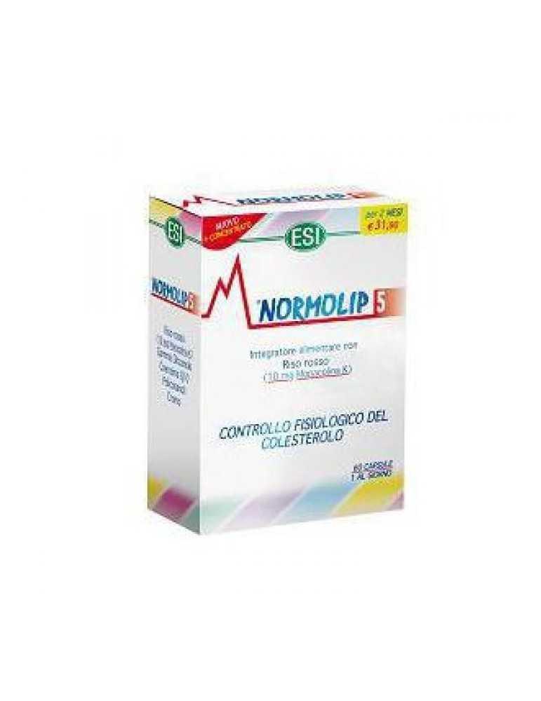 ESI Normolip 5 per il controllo fisiologico del colesterolo 60 capsule Esi