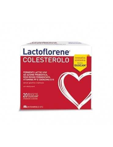 Lactoflorene Colesterolo fermenti lattici 20 buste 935507172