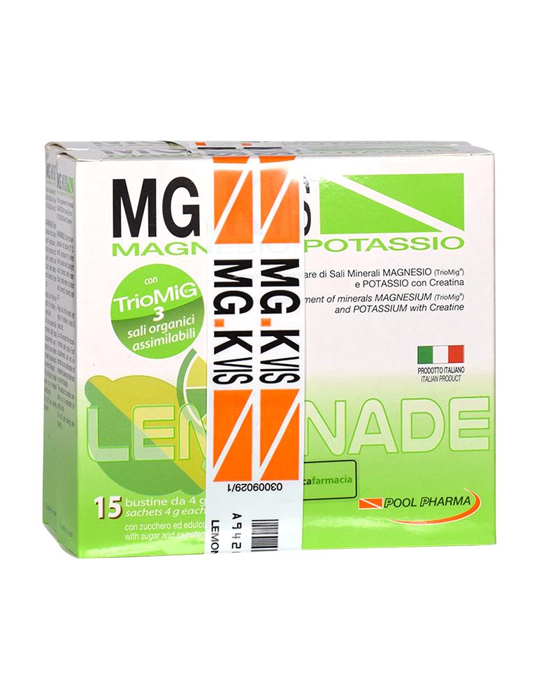 Mg.K Vis Magnesio e Potassio gusto Lemonade 15 bustine +15 omaggio 942602727