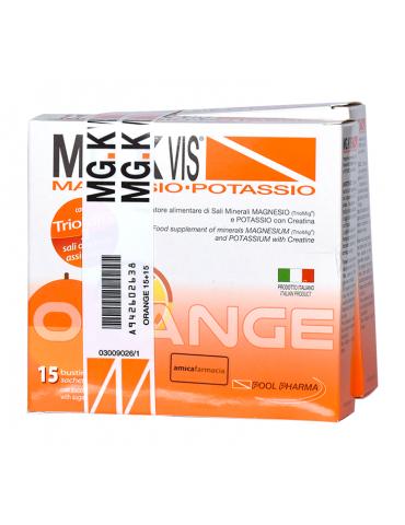 Mg.K Vis Magnesio e Potassio gusto Orange 15 bustine +15 omaggio 942602638