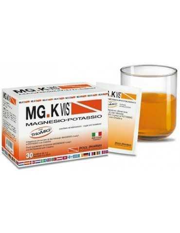 MG.K Vis Magnesio Potassio gusto arancia 30 bustine Pool Pharma