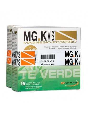 MG.K VIS MAGNESIO - POTASSIO TÈ VERDE 15 BUSTINE + 15 OMAGGIO 942602653