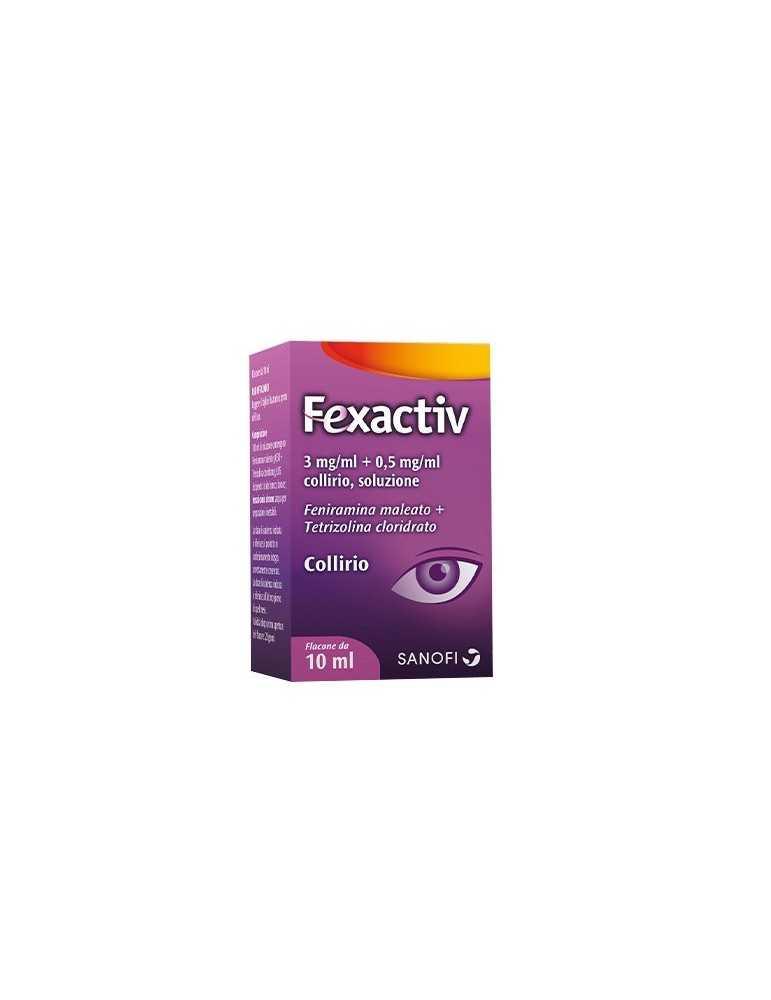 Fexactiv Collirio flacone 10ml 043904022
