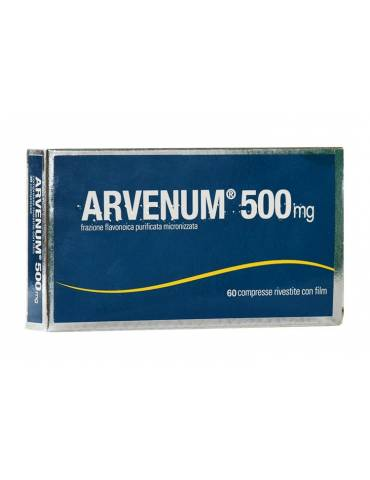 Arvenum 500mg Fragilità Capillare 60cpr 024552046