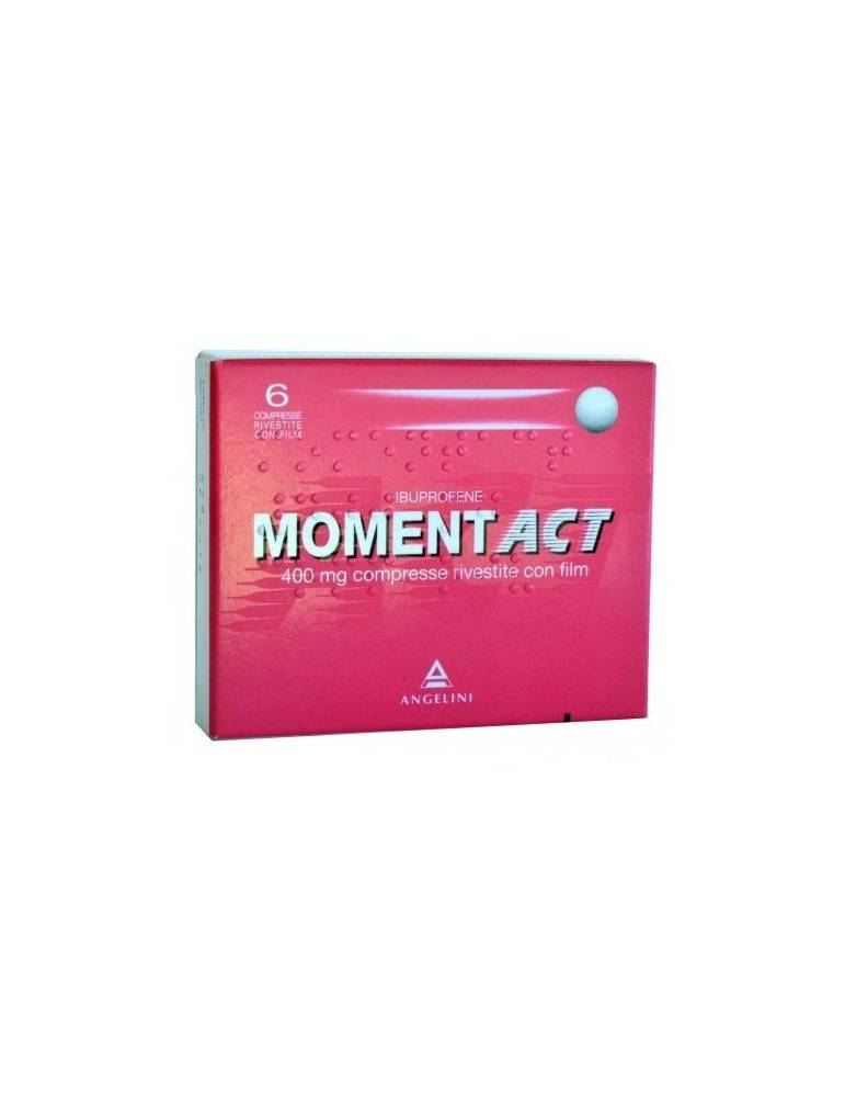 Moment act 6 Compresse Rivestite 400mg 035618014