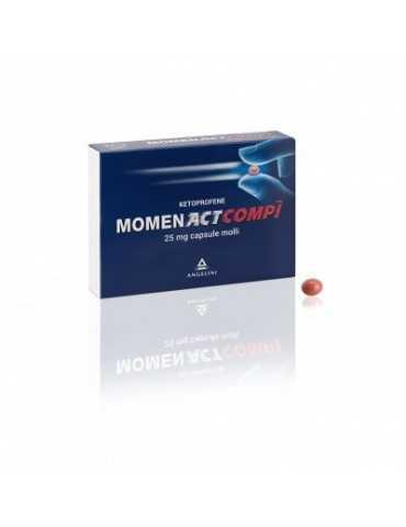 Angelini MomenAct Compi 25mg 10 capsule molli