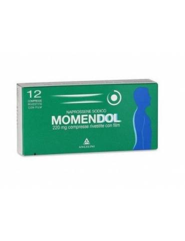 Momendol 220 mg Naprossene sodico 12 capsule molli 025829223