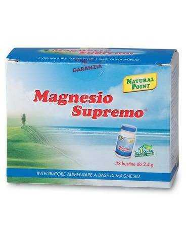 Magnesio Supremo 32 buste Natural Point