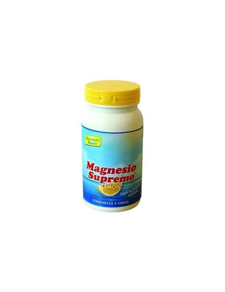 Natural Point Magnesio Supremo Lemon per stanchezza e affaticamento 150g 924083569