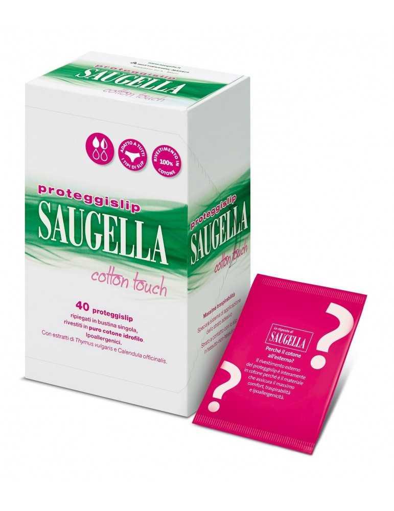 Saugella Proteggi Slip cotton touch 40 pezzi 931467726