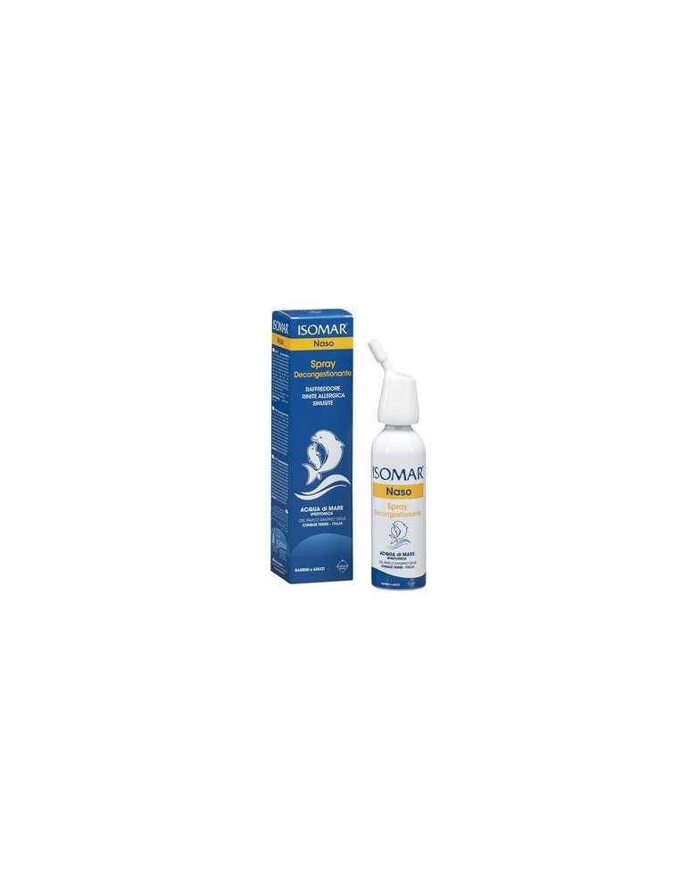 Isomar Spray Decongestionante Naso acqua di mare ipertonica 50ml Euritalia921732867 Euritalia