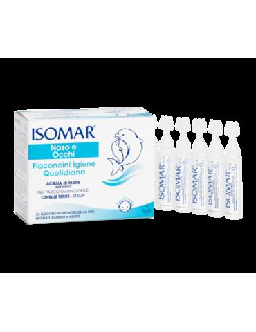 Isomar Naso e Occhi igiene quotidiana 24 flaconcini monodose Euritalia906059415 Euritalia