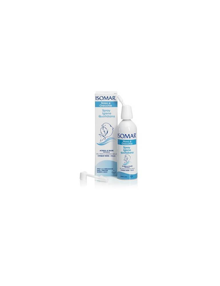 Isomar Naso e Orecchie Spray Igiene Quotidiana acqua di mare 100ml 906059427