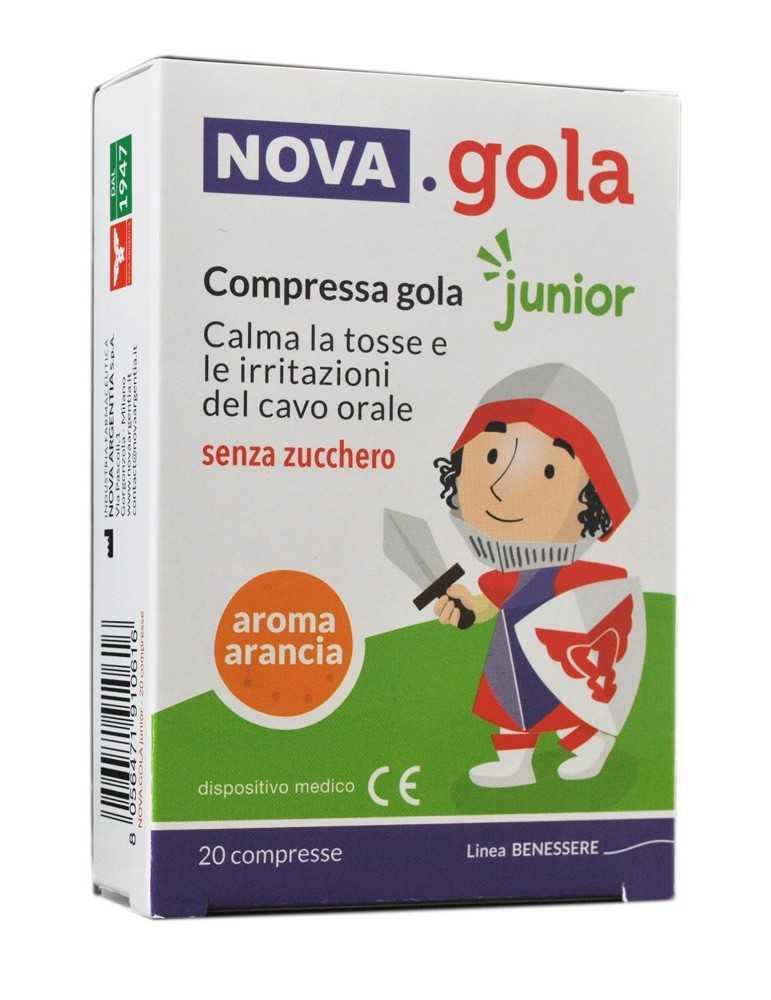 Nova Gola Junior Aroma Arancia 20 compresse 938856972