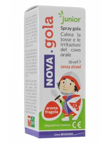Nova Gola Junior Spray gola forte 30 ml gusto fragola 938856984