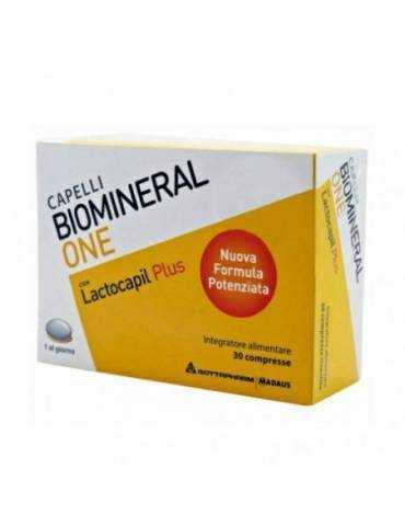 Biomineral One lactocapil plus 30cpr rivestite integratore per capelli Meda Pharma