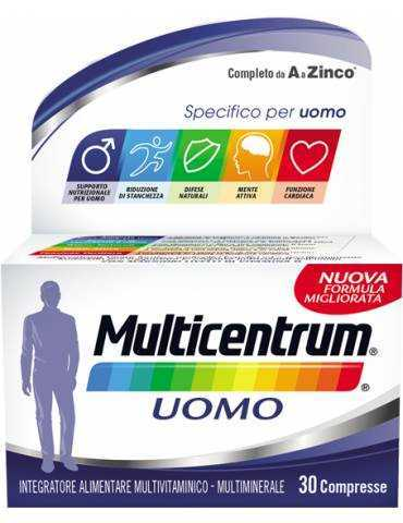 Multicentrum 30cpr Uomo 938753516