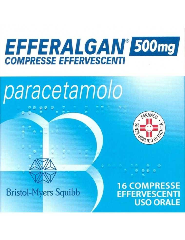 Efferalgan 16 compresse effervescenti 500mg 026608036
