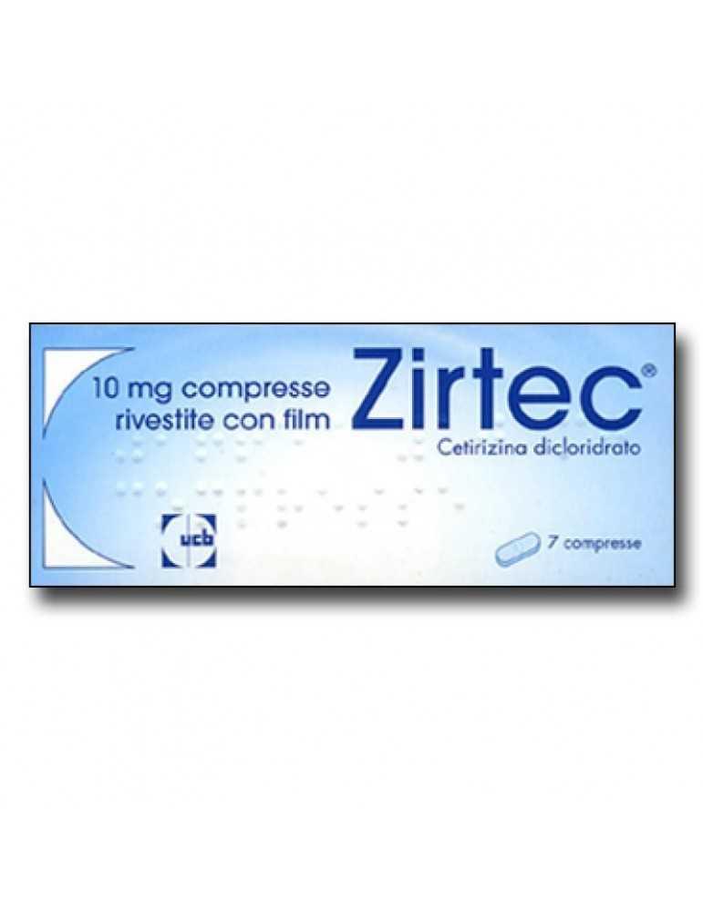 Zirtec 7 Compresse Rivestite 10mg 026894042