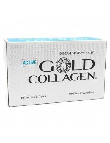 Gold Collagen Active 10 Flaconi Minerva Reserch Labs