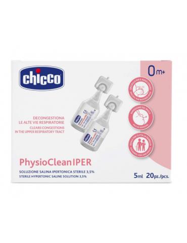 PhysioClean IPER soluzione ipertonica 20fl 5ml Chicco975084486 Chicco