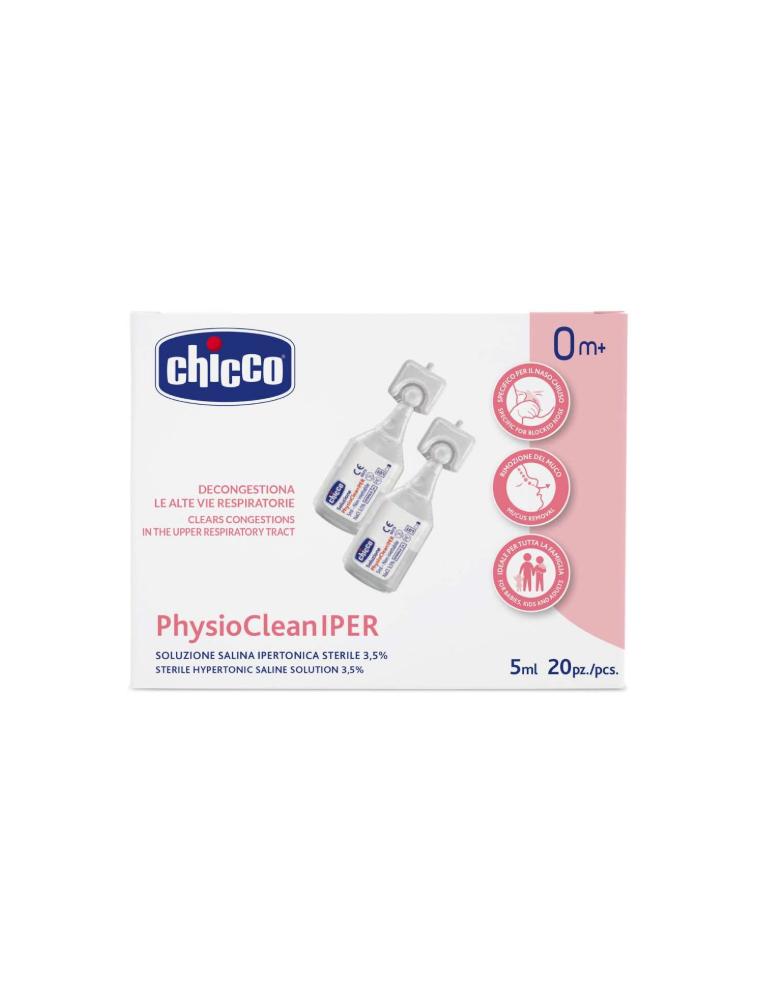 PhysioClean IPER soluzione ipertonica 20fl 5ml CHICCO (ARTSANA SpA)975084486 CHICCO (ARTSANA SpA)