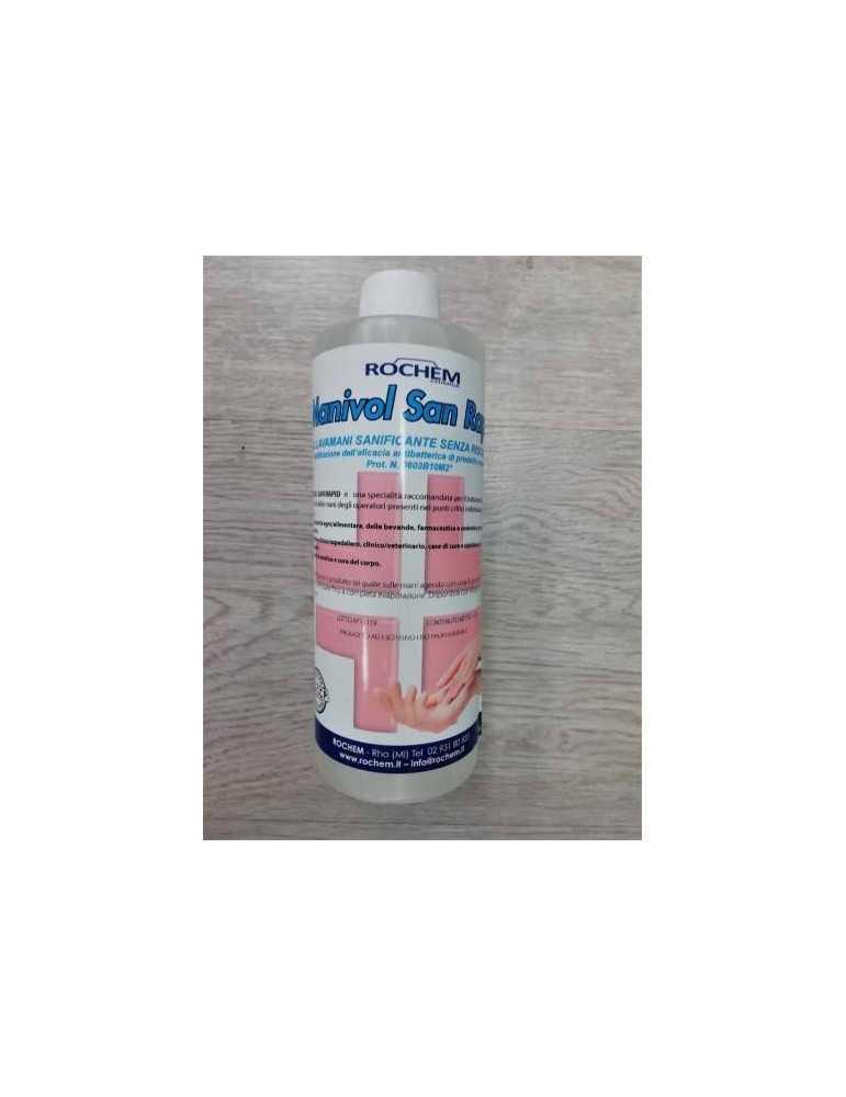 Rochem Manivol San rapid gel sanificante disinfettante lava mani 1L 907900690