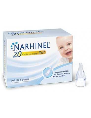 Narhinel beccuccio morbido 20 ricambi usa e getta 921399022